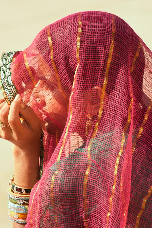 Jaisalmer,Rajashtan - portrait of a young woman