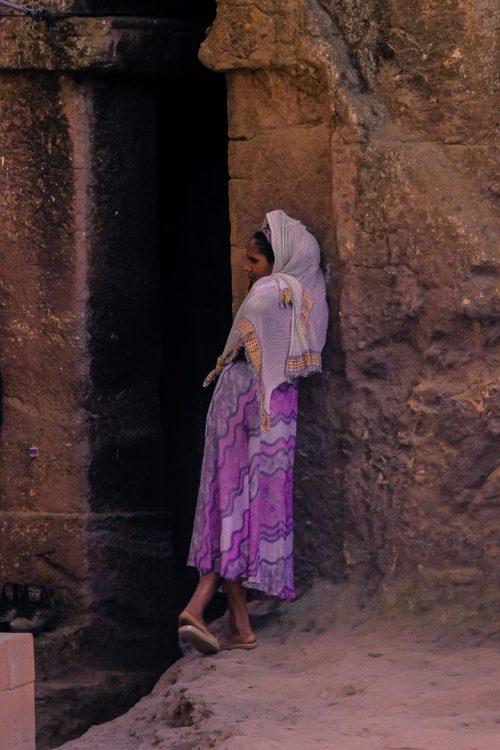 Ethiopian woman in Lalibela