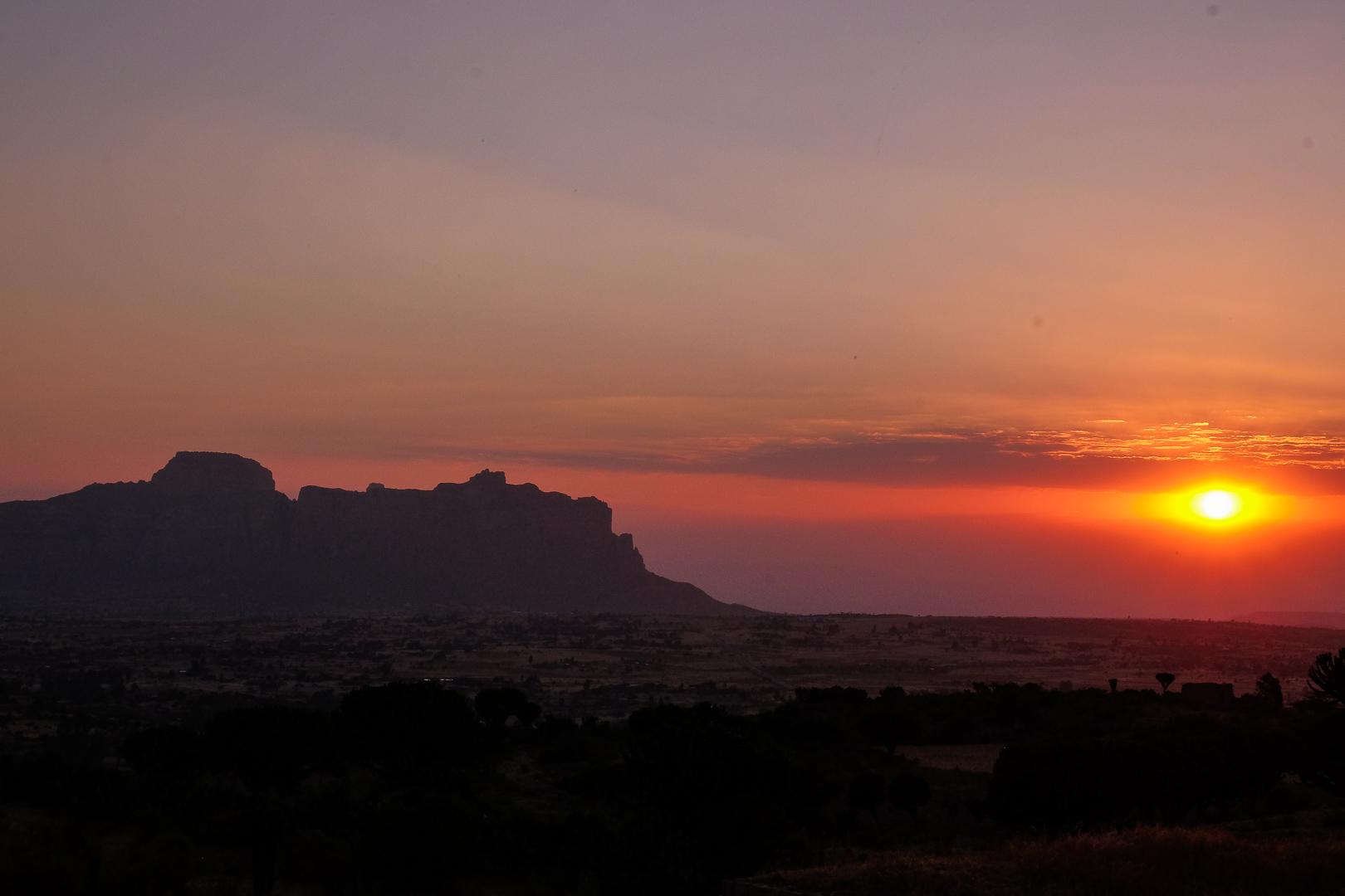 Gheralta Lodge - Sunset