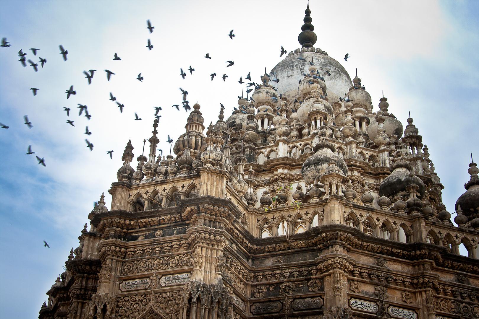 a temple in Raikot, Gujarat